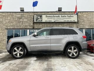 Used 2015 Jeep Grand Cherokee Limited/4x4/sunroof/leather/camera/Navigation/ for sale in Calgary, AB