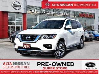 Used 2017 Nissan Pathfinder SL AWD   Aloy   Lether   360 CAM   BSW   HTD Steer for sale in Richmond Hill, ON