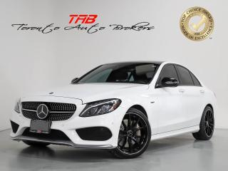 Used 2016 Mercedes-Benz C-Class C450 AMG C450 AMG I PANO I RED LEATHER I HUD I NAVI for sale in Vaughan, ON