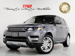 Used 2017 Land Rover Range Rover Sport HSE TD6 I PANO I 21 IN WHEELS I NAVI I CAM for sale in Vaughan, ON