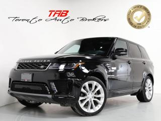 Used 2019 Land Rover Range Rover Sport HSE TD6 I PANO I NAV I 21 IN WHEELS I HEADS UP for sale in Vaughan, ON