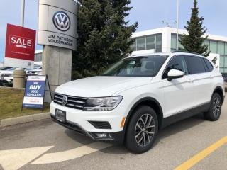 New 2021 Volkswagen Tiguan COMFORTLINE for sale in Surrey, BC