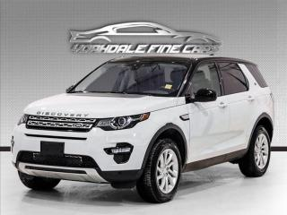 Used 2017 Land Rover Discovery Sport Pano. Navi. Reverse Cam. Loaded for sale in Concord, ON