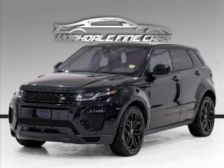 Used 2018 Land Rover Evoque Dynamic, Navigation, Red Interior, Camera, Pano Roof for sale in Concord, ON
