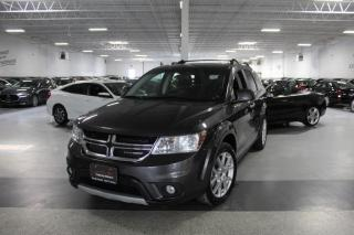 Used 2018 Dodge Journey GT NO ACCIDENTS I NAVIGATION I LEATHER I SUNROOF I REAR CAM for sale in Mississauga, ON