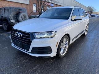 Used 2018 Audi Q7 3.0 TFSI quattro Technik tiptronic for sale in North York, ON