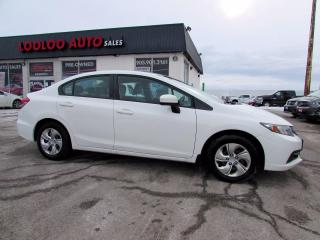 Used 2015 Honda Civic LX Sedan 5 Speed Manual Camera Bluetooth Certified for sale in Milton, ON