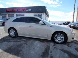 Used 2010 Cadillac CTS Sport Wagon 3.0L Wagon AWD Leather Panoramic Sunroof Certified for sale in Milton, ON