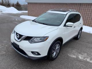 Used 2015 Nissan Rogue SL | AWD | NAVI | PANO ROOF | LEATHER | for sale in Barrie, ON