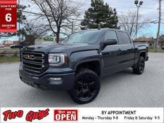 Used 2017 GMC Sierra 1500 SLE Elevation | Crew 5.3L 4WD | Tow Pkg | 5Pass | for sale in St Catharines, ON