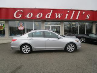 Used 2010 Honda Accord Sedan LEATHER SEATS! NAVIGATION! for sale in Aylmer, ON