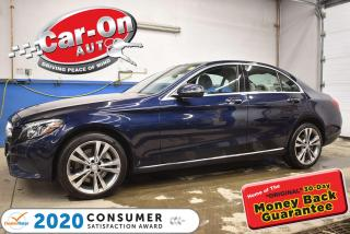 Used 2017 Mercedes-Benz C-Class C300 PREMIUM | PANO ROOF | NAVIGATION | HEATED STE for sale in Ottawa, ON