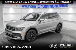 Used 2020 Volkswagen Tiguan HIGHLINE + R-LINE + NAVI + TOIT PANO + W for sale in Drummondville, QC
