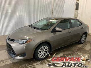 Used 2019 Toyota Corolla LE Caméra A/C Sièges chauffants Bluetooth *Toyota Safety Sense* for sale in Trois-Rivières, QC