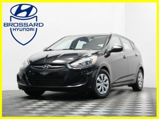 Used 2016 Hyundai Accent AUTO GL SIÈGES CHAUFFANTS BLUETOOTH CRUISE for sale in Brossard, QC
