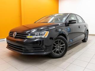 Used 2016 Volkswagen Jetta ÉCRAN TACTILE CAMÉRA SIÈGES CHAUFFANTS *BAS KM* for sale in Mirabel, QC
