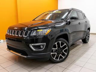 Used 2020 Jeep Compass LIMITED 4X4 NAVIGATION CUIR TOIT PANO *BAS KM* for sale in Mirabel, QC