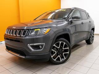 Used 2020 Jeep Compass LIMITED 4X4 NAVIGATION CUIR *TOIT PANORAMIQUE* for sale in Mirabel, QC
