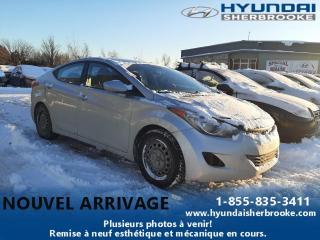 Used 2013 Hyundai Elantra GL AIR CLIM BANCS CHAUF BLUETOOTH CRUISE for sale in Sherbrooke, QC