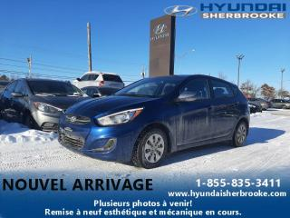 Used 2016 Hyundai Accent BAS KILO GL BANCS CHAUF BLUETOOTH CRUISE for sale in Sherbrooke, QC