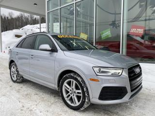 Used 2018 Audi Q3 PRENIUM , KONFORT , TSI , QUATTRO for sale in Ste-Agathe-des-Monts, QC