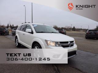 Used 2014 Dodge Journey R/T | B/U Camera | Remote Start | Heated Seats/Steering Wheel | Alpine Speakers | Rear Park Sensors for sale in Weyburn, SK