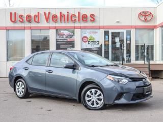 Used 2015 Toyota Corolla CE MANUAL | YES WE ARE OPEN! for sale in North York, ON
