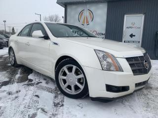 Used 2008 Cadillac CTS ***CTS-4,AWD,CUIR,TOIT PANO,AUBAINE*** for sale in Longueuil, QC