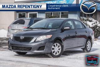 Used 2010 Toyota Corolla Berline 4 portes, boîte manuelle, CE for sale in Repentigny, QC