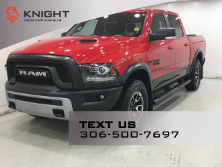 Used 2017 RAM 1500 Rebel Crew Cab | Sunroof | Rambox | for sale in Regina, SK