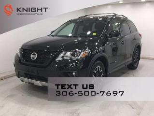 Used 2019 Nissan Pathfinder SV   Rock Creek Package   Leather   Sunroof   Navigation   for sale in Regina, SK