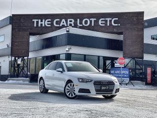 Used 2017 Audi A4 2.0T Komfort AWD!! Leather!! Heated Steering Wheel! Heated Seats!! Sunroof!! for sale in Sudbury, ON