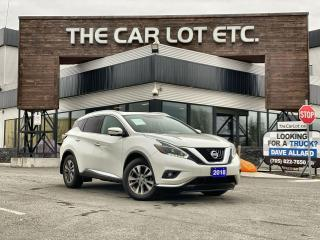 Used 2018 Nissan Murano SL AWD!! Loaded w/ Features!! Heated Leather!! Heated Steering Wheel!! Navigation!! Back-Up Cam!! for sale in Sudbury, ON