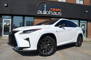 Used 2017 Lexus RX 350 F SPORT I RED INTERIOR I LDW I ACC I NAVI for sale in Concord, ON