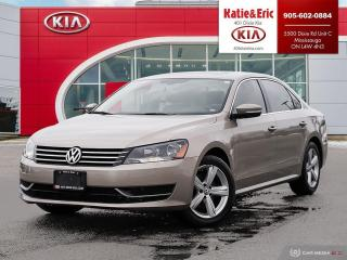 Used 2015 Volkswagen Passat 1.8 TSI Comfortline $59.68 Weekly // Leather // Roof// for sale in Mississauga, ON