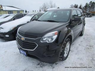 Used 2017 Chevrolet Equinox FUEL EFFICIENT LS EDITION 5 PASSENGER 2.4L - ECO-TEC.. TOUCH SCREEN DISPLAY.. BACK-UP CAMERA.. BLUETOOTH SYSTEM.. AUX/USB INPUT.. KEYLESS ENTRY.. for sale in Bradford, ON