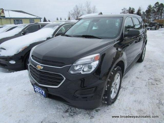 2017 Chevrolet Equinox FUEL EFFICIENT LS EDITION 5 PASSENGER 2.4L - ECO-TEC.. TOUCH SCREEN DISPLAY.. BACK-UP CAMERA.. BLUETOOTH SYSTEM.. AUX/USB INPUT.. KEYLESS ENTRY..