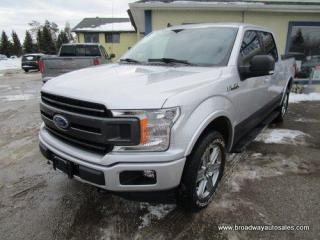 Used 2019 Ford F-150 GREAT VALUE XLT EDITION 5 PASSENGER 5.0L - V8.. 4X4.. CREW-CAB.. SHORTY.. NAVIGATION.. HEATED SEATS.. POWER PEDALS.. BACK-UP CAMERA.. BLUETOOTH.. for sale in Bradford, ON