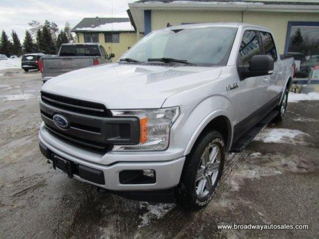 2019 Ford F-150 GREAT VALUE XLT EDITION 5 PASSENGER 5.0L - V8.. 4X4.. CREW-CAB.. SHORTY.. NAVIGATION.. HEATED SEATS.. POWER PEDALS.. BACK-UP CAMERA.. BLUETOOTH..