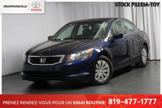 Used 2009 Honda Accord AUTOMATIQUE| 4 CYLINDRES| ÉCONOMIQUE for sale in Drummondville, QC