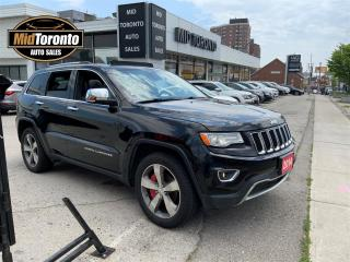 Used 2014 Jeep Grand Cherokee Limited - 4WD - Navi - Roof - Adapt Cruise - Heated Wheel - HID - Blind Spot - 2 Sets 20 inch Tires and Wheels - No Accidents for sale in North York, ON