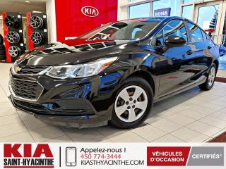 Used 2016 Chevrolet Cruze LS ** CAMÉRA DE RECUL + A/C for sale in St-Hyacinthe, QC