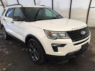 Used 2018 Ford Explorer Sport DUAL PANE SUNROOF, NAVIGATION, FACTORY REMOTE STARTER for sale in Ottawa, ON