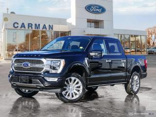 New 2021 Ford F-150 4x4 Limited-145 for sale in Carman, MB