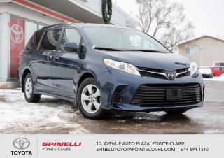 Used 2020 Toyota Sienna LE 8 PASSAGER, SIÈGES CHAUFFANT for sale in Pointe-Claire, QC