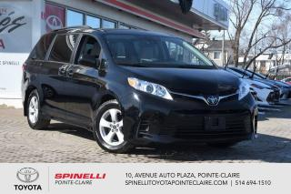 Used 2020 Toyota Sienna LE 8 PASSAGER, CAMÉRA DE RECUL, SIÈGES CHAUFFANT for sale in Pointe-Claire, QC