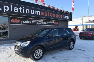 Used 2017 Chevrolet Equinox LS BACKUP CAMERA!! BLUETOOTH!! FOG LIGHTS!! GREAT FUEL ECONOMY!! for sale in Saskatoon, SK