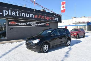Used 2015 Chevrolet Equinox 1LT REMOTE START!! BACKUP CAMERA!! BLUETOOTH!! for sale in Saskatoon, SK