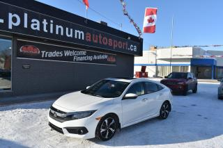 Used 2016 Honda Civic Touring LEATHER!! SUNROOF!! BACKUP CAMERA!! BLUETOOTH!! for sale in Saskatoon, SK