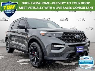 Used 2020 Ford Explorer ST AWD Leather/Navi/Roof/20 Wheels for sale in St Thomas, ON